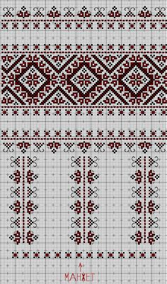 Beautiful pattern with possibility of many applications Cross Stitch Bookmarks, Cross Stitch Borders, Cross Stitch Rose, Cross Stitching, Cross Stitch Embroidery, Cross Stitch Patterns, Needlepoint Patterns, Embroidery Patterns, Russian Cross Stitch
