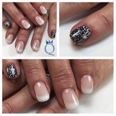 #shortnails #gelnails #nails #soft #frenchnails #black #silver #glitter #white #handpainted #stars #yvesswiss #kurzenägel #gelnägel #nägel #french #schwarz #silber #glitzer #weisse #handgezeichnete #sternchen #nagelstudio #möhlin #nailqueen_janine