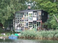 House built from recycled materials in Copenhagen's Christiania. Photo: Philippa Jacks