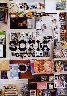 Sofia Coppola inspiration board