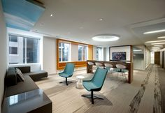 Offices of Microsoft Montreal 2014 Carpet: SHAW CONTRACT on the Edge collection - Métaphore Design