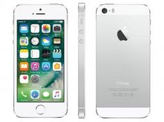 "iPhone 5s Apple 16GB Prata 4G Tela 4"" Retina - Câmera 8MP iOS 10 Proc. M7 Touch ID"