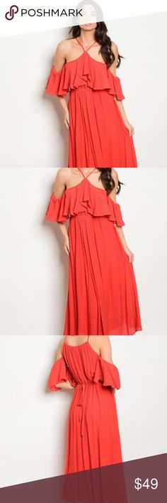 I just added this listing on Poshmark: Lovely Summer Red Dress. #shopmycloset #poshmark #fashion #shopping #style #forsale #INA #Dresses & Skirts