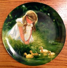 Golden Moment Porcelain Collector Plate