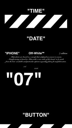 """Off-White™""""IPHONE"""" """"7"""" """"WALLPAPER"""" """"壁紙"""" """"OFFWHITE"""" 18/4/10-11"""
