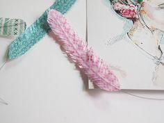 milowcostblog: diy: plumas de washi tape