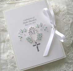 Baptism Photo Album First Communion or New Baby  by Daisyblu, $28.00 #capsteam #wwes  Great Custom Gift !