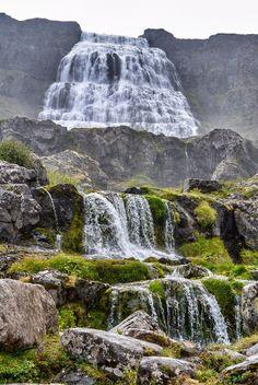 Dynjandi / Dynjandi: A Hidden Waterfall in Iceland's Westfjords / Sidetracked