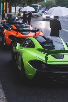 McLaren x 4