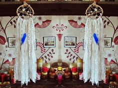 #Bohemian Dreamcatcher  Mirrors    Small Rustic от #iCatchUrDream