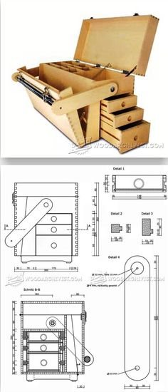 Plywood Tool Chest Plans - Workshop Solutions Projects, Tips and Tricks | WoodArchivist.com