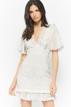 Product Name:Dark Pink Floral Jacquard Dress, Category:dress, Price:68