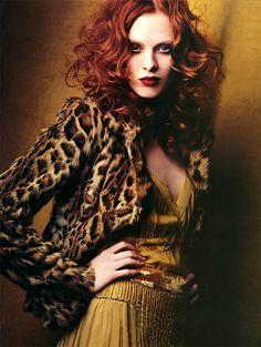 Karen Elson by Craig McDean for Anna Molinari FW 2004  http://muddystud.blogspot.com/2010/10/karen-elson-1979.html?zx=f8433f2d7e783ead