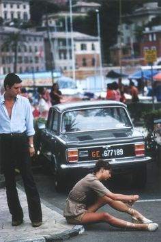 chanelbagsandcigarettedrags:  Portofino, 1977 (Slim Aarons)