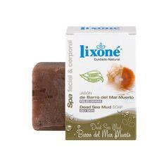 El Barro del Mar Muerto se diferencia del resto de barros por su elevada concentración en minerales, perfectos por sus propiedades curativas y purificantes. Todavía no has probado el jabón #lixone?