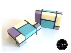 "Seife ""Mondrian (in Pastell)"" - handmade soap"