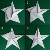 Folding 5 Pointed Origami Star Christmas Ornaments How to fold a 5 pointed origami star with step by step photos. An easy way to make beautiful Christmas star decorations. Christmas Origami, Christmas Fun, Beautiful Christmas, Christmas Recipes, Origami Christmas Star, Diy Paper, Paper Crafting, Paper Folding Crafts, Papier Diy