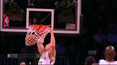 Mirza Teletovic Slams in the Alley Oop!