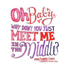 "Tekst uit ""the middle""- zedd Erg leuk liedje Song Lyrics Art, Cool Lyrics, Lyric Art, Lyric Quotes, Art Quotes, Pink Lyrics, Lyric Drawings, Drawing Quotes, Hand Lettering Quotes"