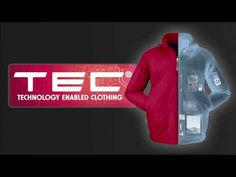 TEC (technology-enabled clothing) vests and jackets