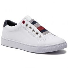 7a23a5fd0 Cómodas y bonitas sneakers de Tommy Hilfiger  blancas  sneakers   tommyhilfiger. Marca TommyTommy JeansTommy HilfigerSneakerThe ...