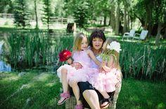 Cuddles with grandma are the best - Photo by Heidi Chowen #stellaindustries #starlet #everygirlisastar #everygrandmaisastar #heidichowen