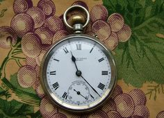 H Williamson Ltd 'Sphinx' pocket watch, 1920s
