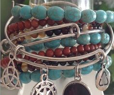 NOTE - The Listing Photo above shows several bracelets -- they are all sold…