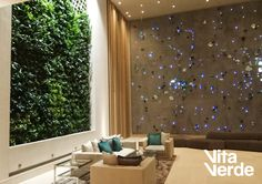 A place to relax and enjoy. Technology of Jardines Verticales Paisajismo Urbano  #verticalgarden #interiordesign #sanidunes #PaisajismoUrbano