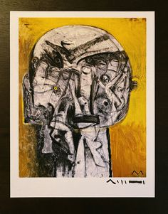 """Giclee Art Print: """"MAYA - """"Disorder of Fear"""", Limited Edition Hand Signed Art Print Sumi Ink, Limited Edition Prints, Disorders, Maya, Giclee Print, Fine Art, Art Prints, Collections, Etsy"""