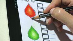 Livros de Colorir - Sombra ou efeito 3D como fazer