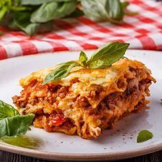 Lasagnes à la vraie bolognaise