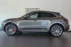 2016 Porsche Macan Turbo Agate Grey Metallic   Greenwich, Connecticut   New Country Porsche of Greenwich