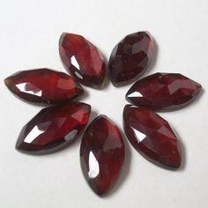 Top quality  9x18 mm Natural HESSONITE GARNET marquise rosecut AAA Quality gemstone.....