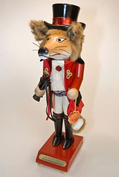 Original Christian Steinbach German Nutcracker Fox Master of The Hunt Fuchs | eBay