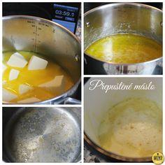 Přepuštěné máslo Menu, Butter, Eggs, Pudding, Treats, Homemade, Breakfast, Ethnic Recipes, Desserts