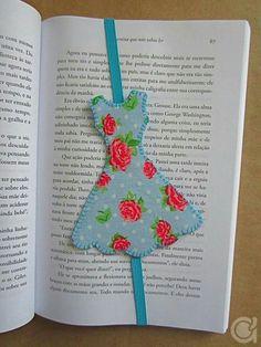 25 Creative DIY Bookmarks Ideas - including a tea cup/bag bookmark Kids Crafts, Felt Crafts, Fabric Crafts, Sewing Crafts, Diy And Crafts, Decor Crafts, Diy For Kids, Homemade Bookmarks, Diy Bookmarks