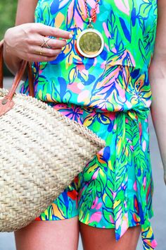 Lilly Pulitzer Playsuit