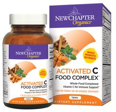 New Chapter Activated C Food Complex  #MyNaturalMarket