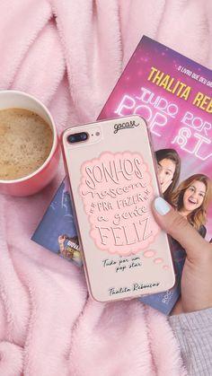 Capinhas para celular Sonhos by Thalita Rebouças, livros, Tudo Por Um Popstar, Fala Sério Mãe, tapete rosa, cases