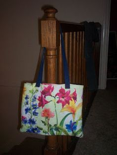 One Yard Projects: Kitchen Cloth Tote Bag