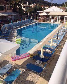 A Hotel Pool in Sidari Corfu Greece