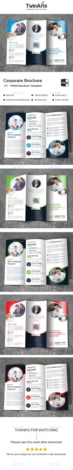 Trifold Brochure Template PSD. Download here: http://graphicriver.net/item/-trifold-brochure/16021625?ref=ksioks