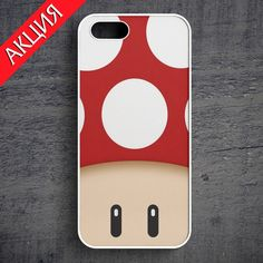 """""""1UP Red"""" Case for iPhone 4/4S, 5/5S, 6. Worldwide shipping. Store's url http://vk.com/market-71763847"""