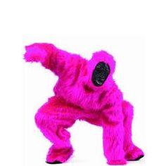 Disfraz de gorila rosita para hombre y para mujer