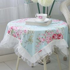 Tablecloths Product | Victorian Rose Square Tablecloth