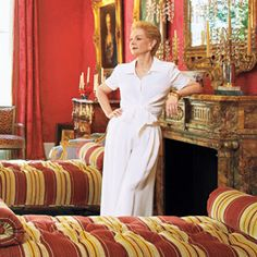 Go Inside Carolina Herrera's Manhattan Town Home - The Sitting Room