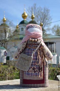 Купить Народная кукла оберег-Успешница. - разноцветный, оберег, обереги в подарок, оберег в подарок, берегиня