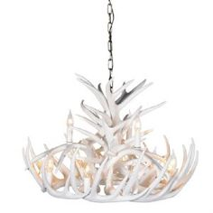 Porta Romana - MCL37 Ivy Shadow Chandelier - Forest Gold ...