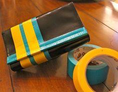 DIY Neon Crafts: DIY Neon DIY Crafts: Color Block Purse